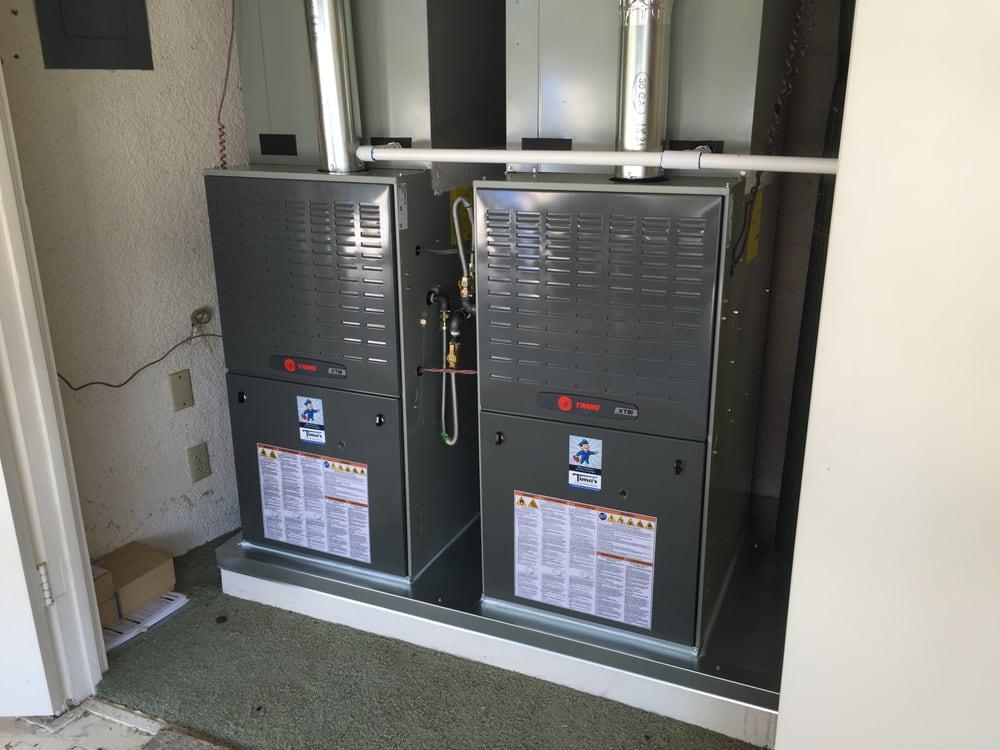 trane xt80 furnaces twinned together for simultaneous operation rh yelp com Trane Forced Air Furnace trane xt80 installation manual