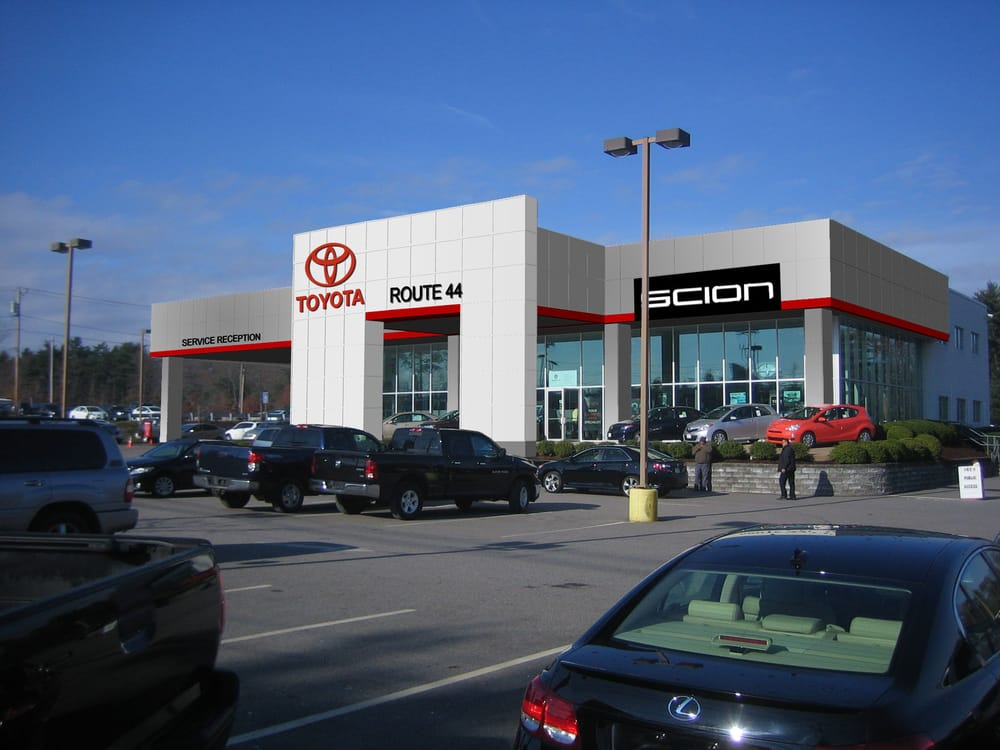 Toyota Dealers Near Me >> Route 44 Toyota - Last Updated June 2017 - 38 Reviews ...