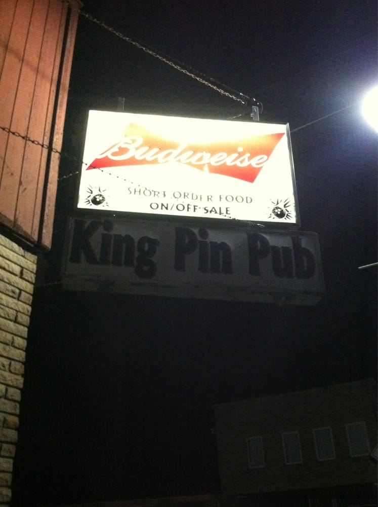 King Pin Pub: 132 Main St E, Plato, MN