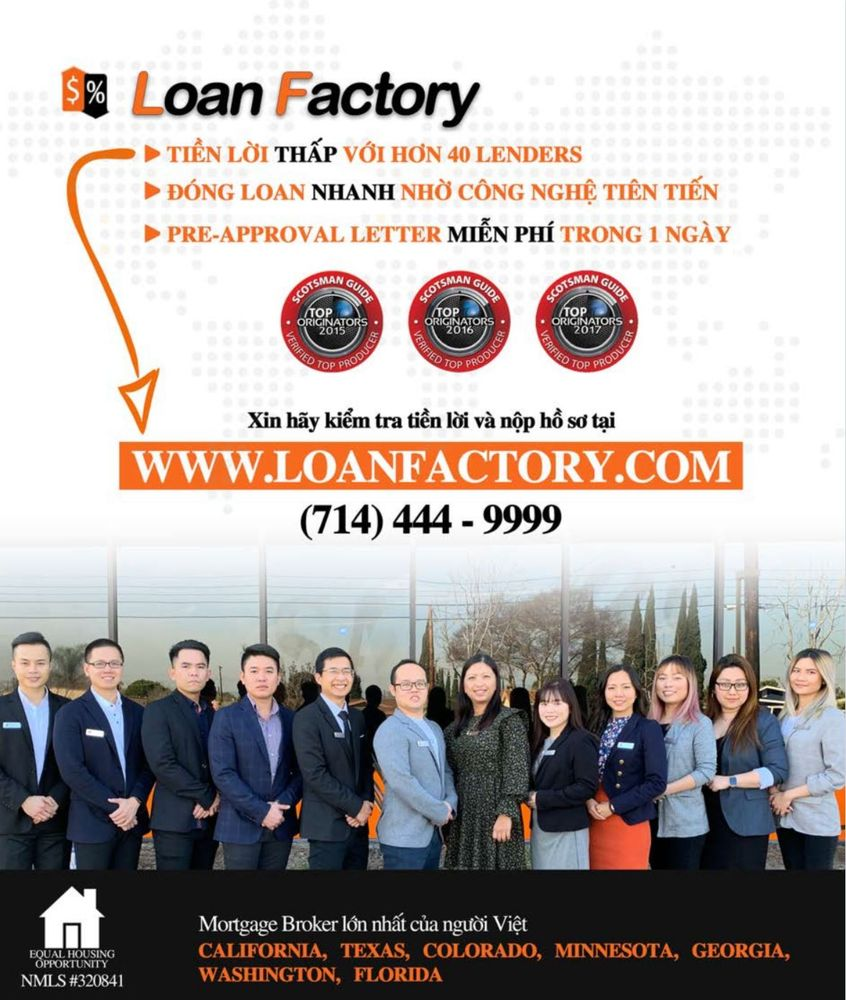 Loan Factory - The Next Generation Lender