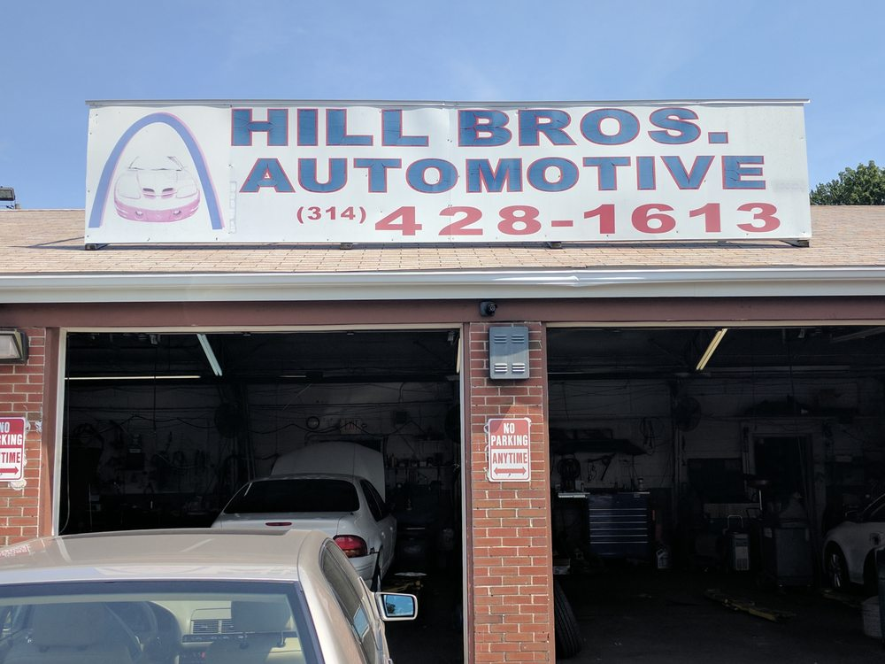 Hill Brothers Automotive: 9197 Saint Charles Rock Rd, Saint Louis, MO