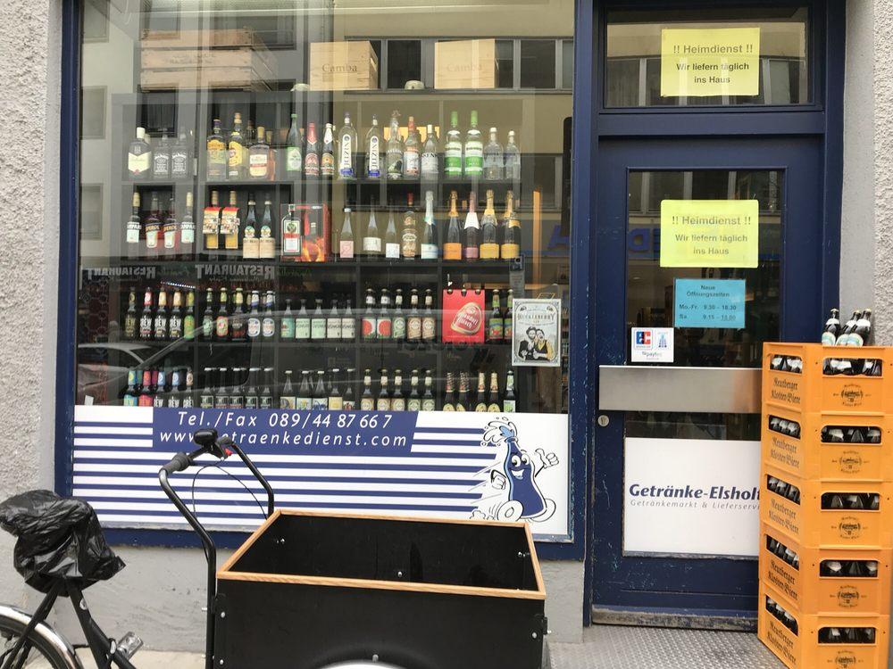 Getränke Elsholtz - Beverage Store - Weißenburgerstr. 28, Au ...