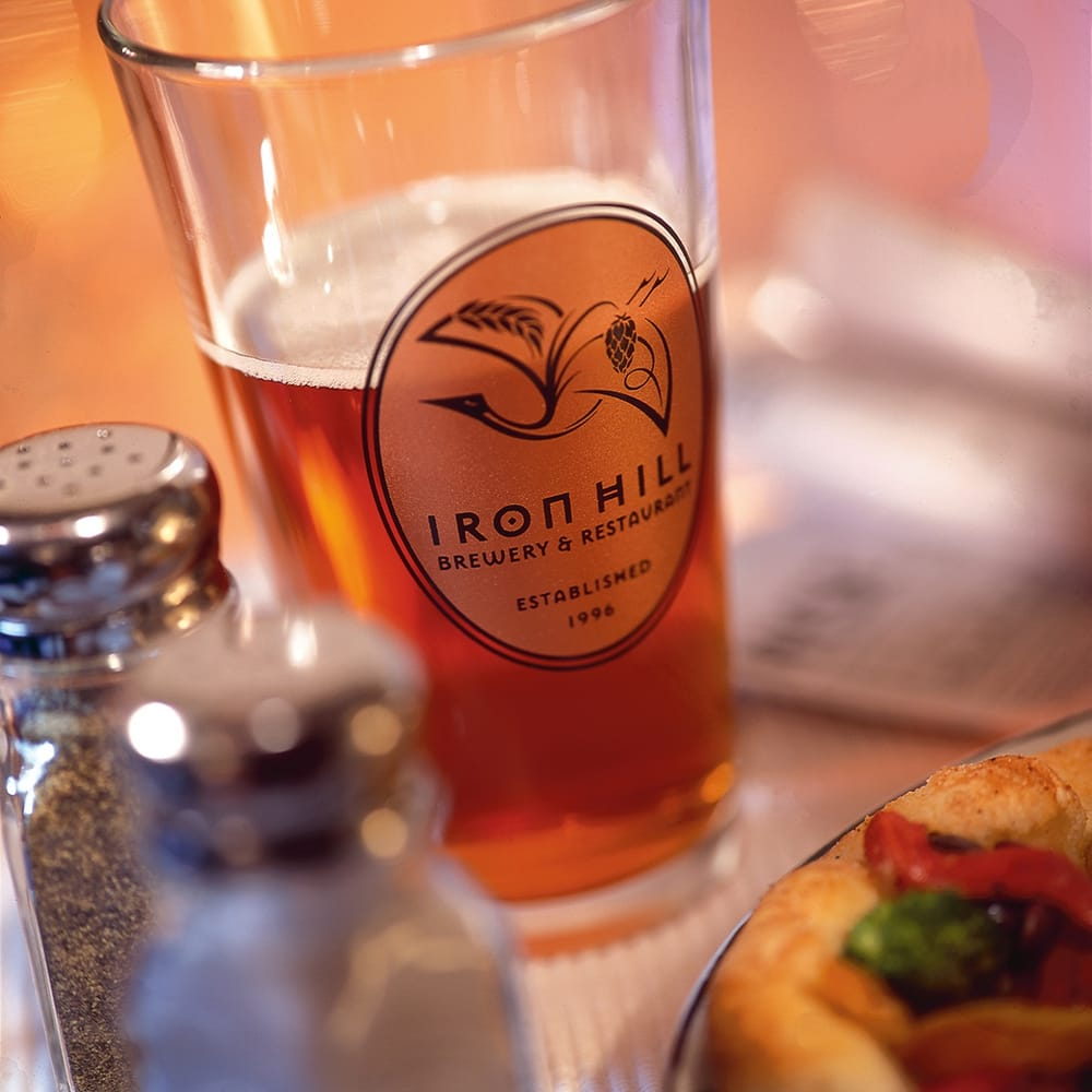Food from Iron Hill Brewery & Restaurant