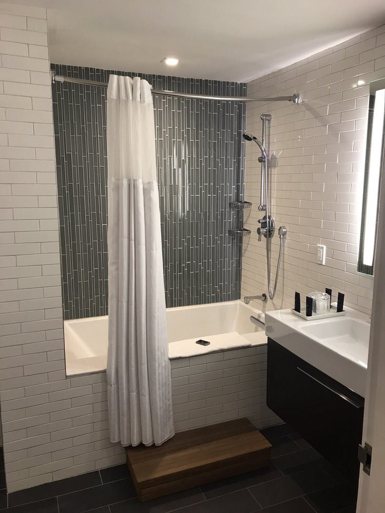 Clean and Chic bAthrooms. - Yelp