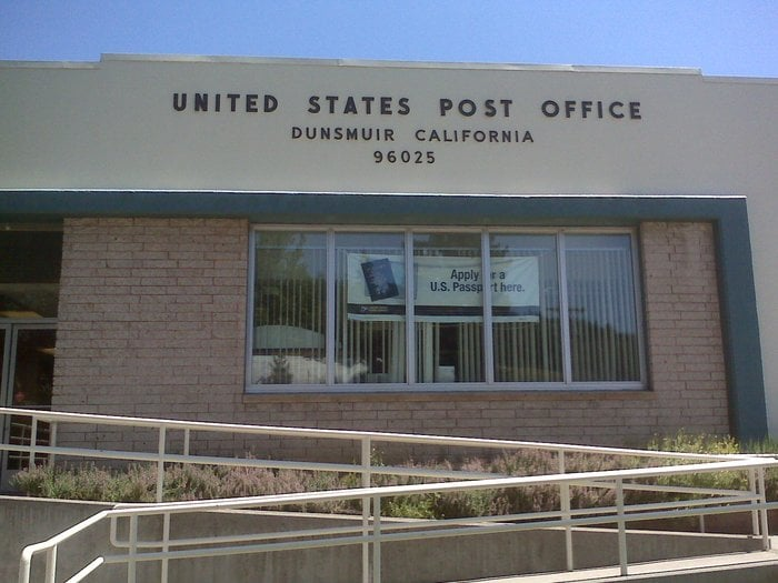 Photo of US Post Office: Dunsmuir, CA