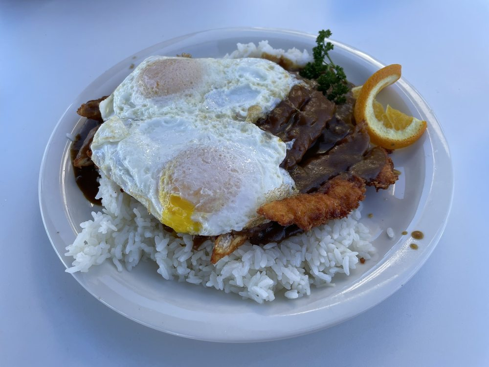 Aloha Stacks Island Style Eats: 11461 South St, Cerritos, CA