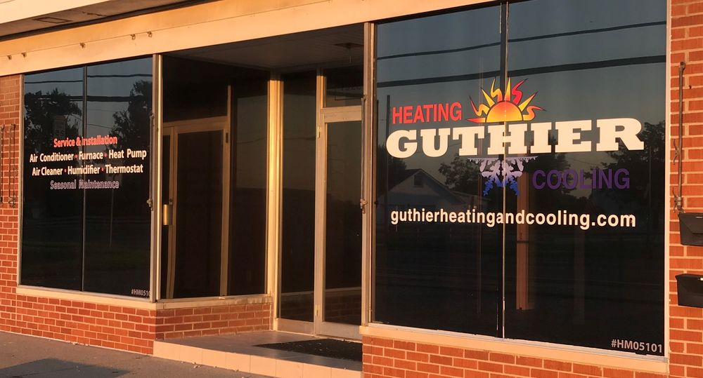 Guthier Heating & Cooling: 7923 Alexandria Pike, Alexandria, KY
