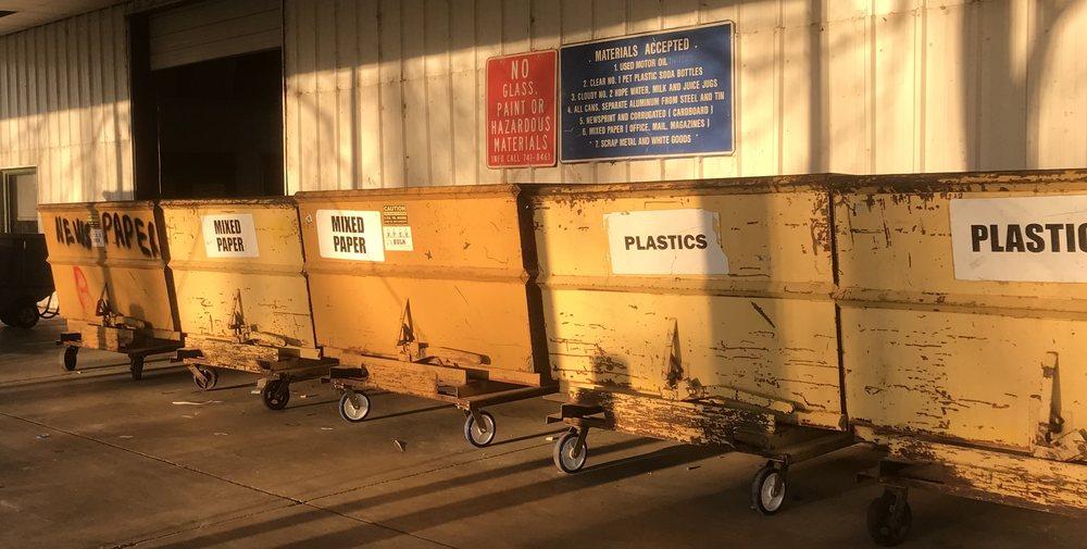 Bossier City Recycling Drop Off: 3320 Old Shed Rd, Bossier City, LA