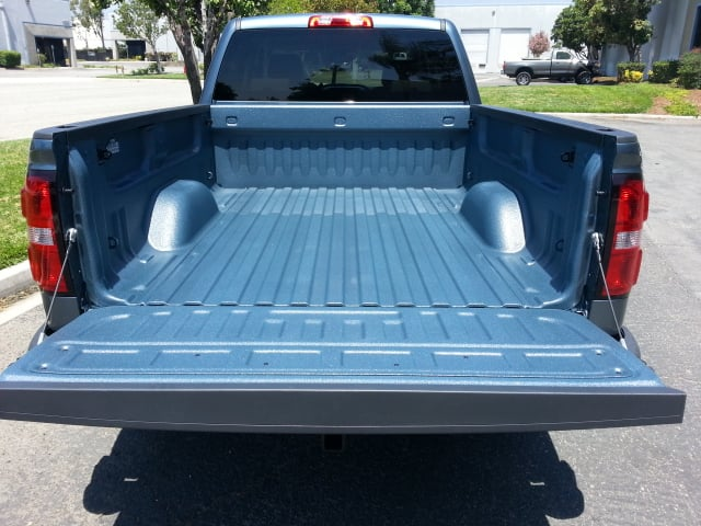 Chevy Stealth Gray color matched Line-X bedliner - Yelp