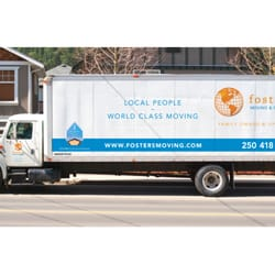 Photo Of Foster S Moving Storage Victoria Bc Canada