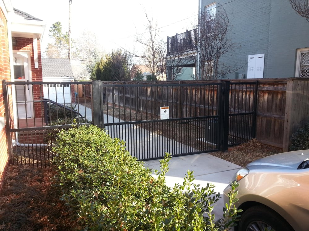 6 Ft Rod Iron Fence And Gate Poodle Proof Custom Build