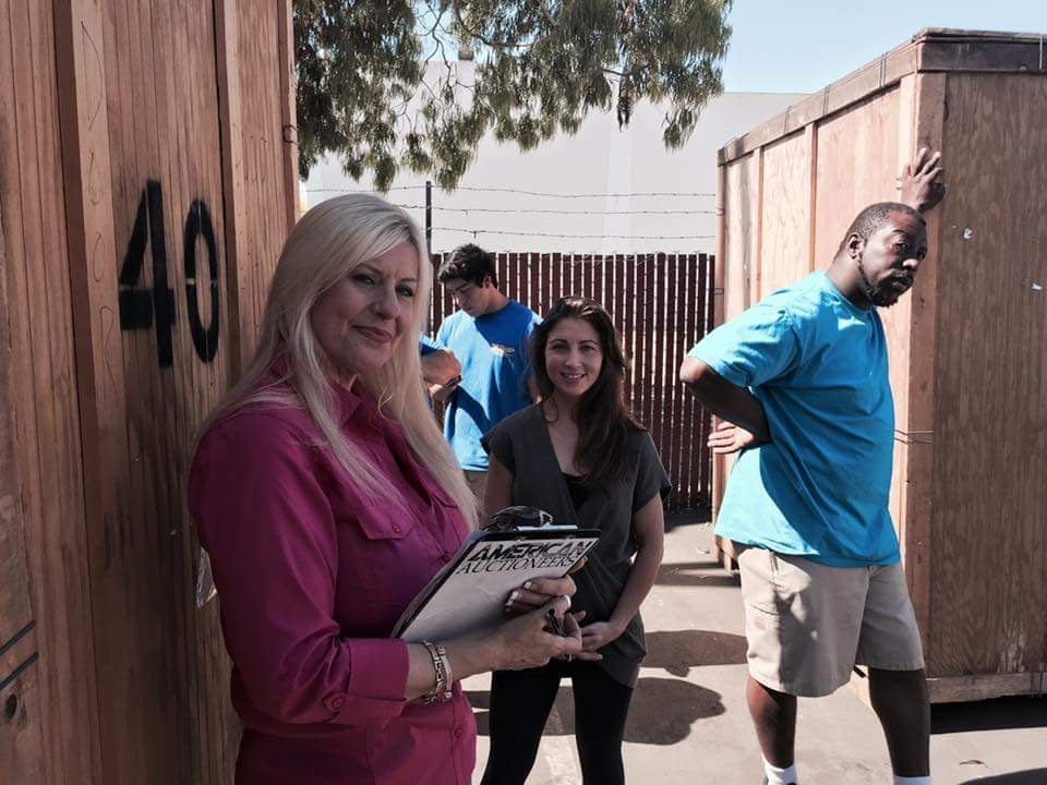 Storage Wars Filming Episode 179 Laura Dotson Mary