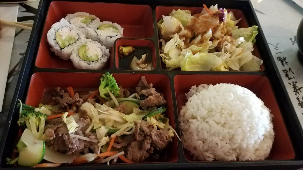 Bulgogi Bento Box Bulgogi Was Delicious Yelp