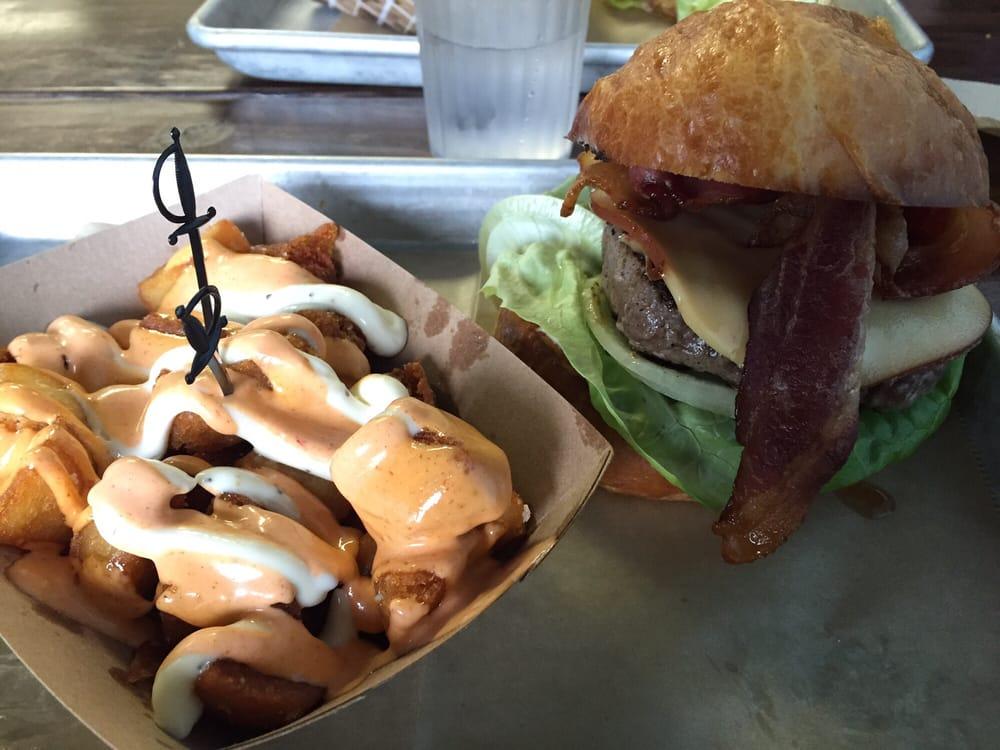 Bravas Patatas Amp Snoooooop Burger Yelp