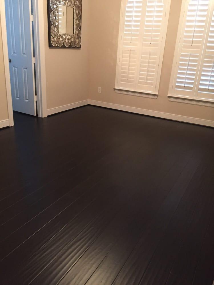 Shiny beautiful new flooring yelp for Hardwood floors not shiny