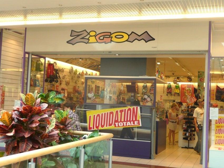 Zigom magasin de loisirs centre cial part dieu part dieu lyon num ro - Magasin cuisine part dieu ...