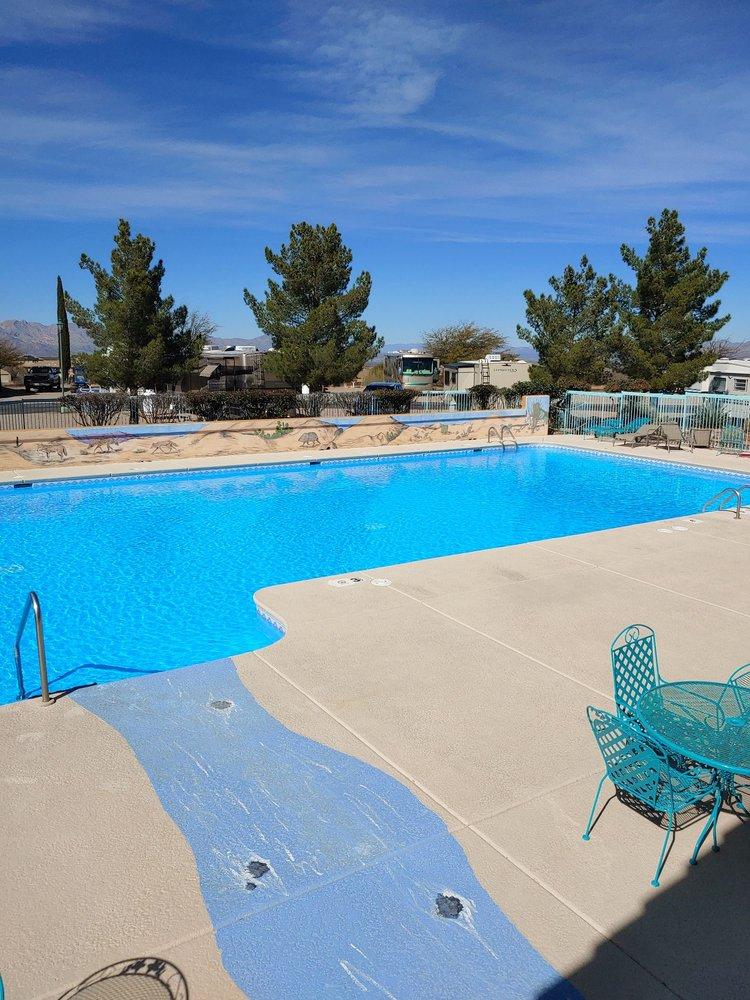 Cochise Terrace RV Resort: 1030 S Barrel Cactus Ridge, Benson, AZ