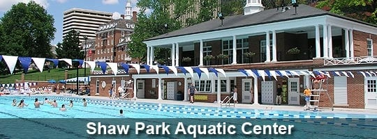 Shaw Park Aquatic Center: 111 S Brentwood, Clayton, MO