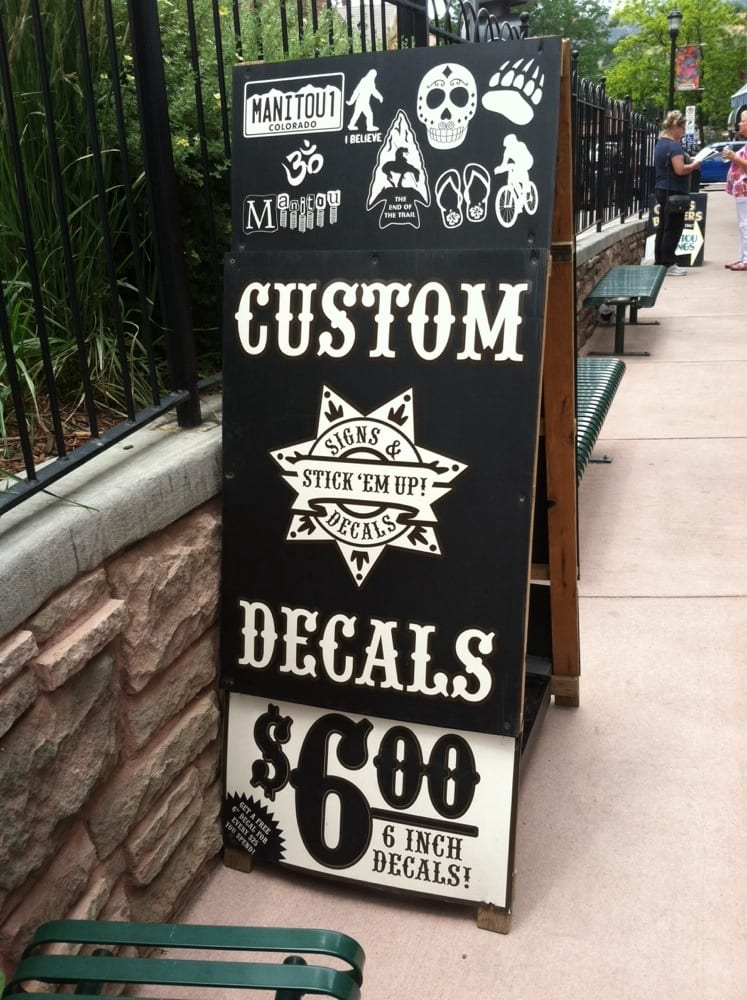 STICK 'EM UP! Signs & Decals LTD.