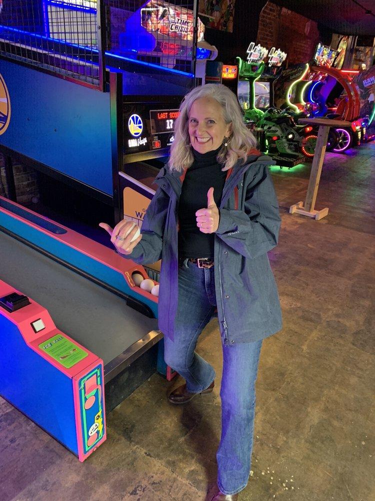 Power Up Arcade: 110 N Main St, Graham, NC