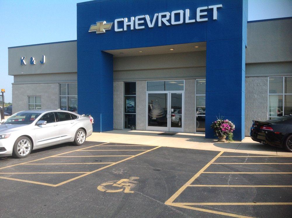 K & J Chevrolet: 3051 Franklin St, Carlyle, IL