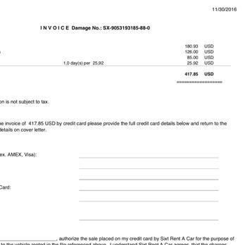 Sixt Car Rental Customer Service Phone Number