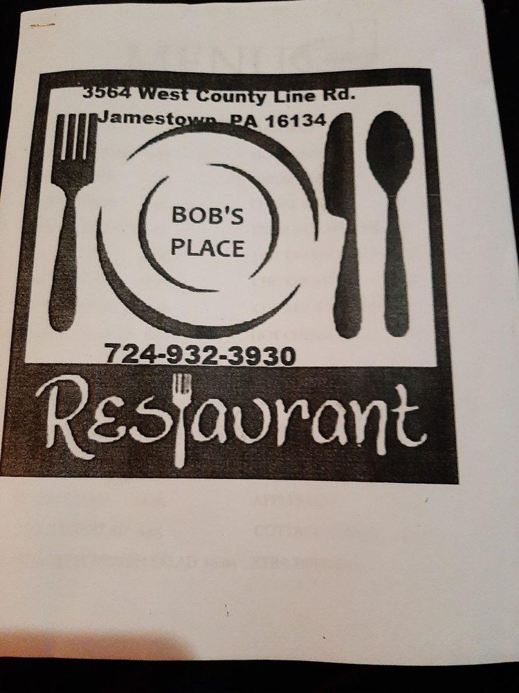 Bob's Place: 3624 Williamsfield Rd, Jamestown, PA