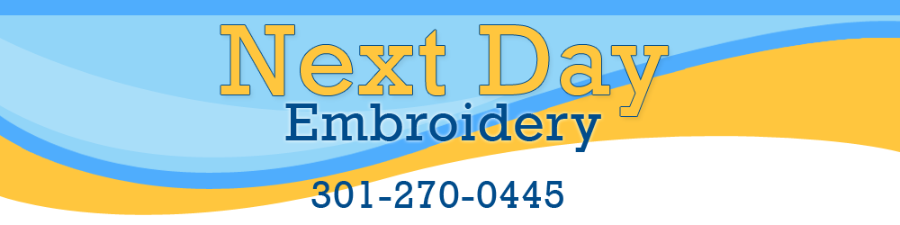 Next Day Embroidery - 6495 New Hampshire Ave, Hyattsville, MD - 2019