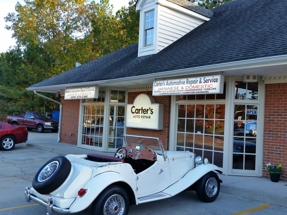 Carter'S Auto Repair >> Carter S Automotive Repair Service Gift Card Marietta