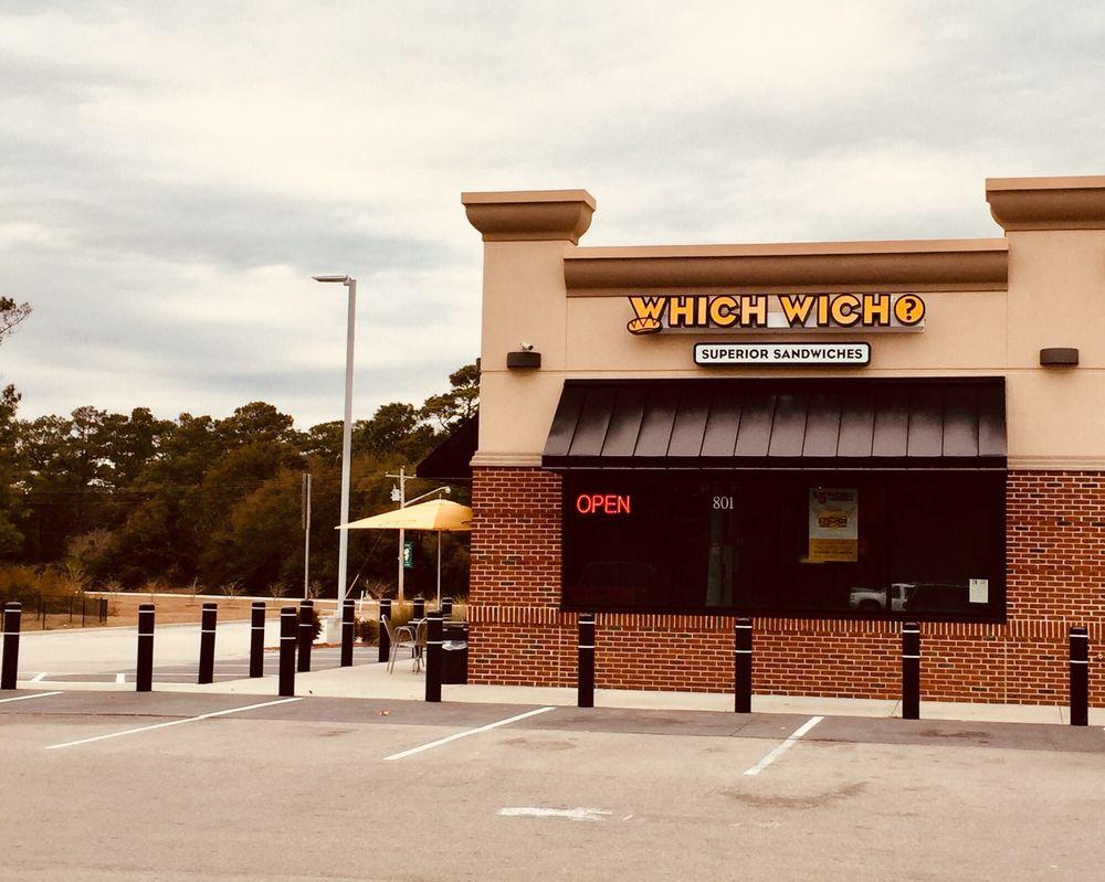 Which Wich: 801 Wb McLean Blvd, Cape Carteret, NC