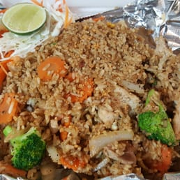 Thai Fried Rice $9.95 Choice of meat.. At Beer Shed ...