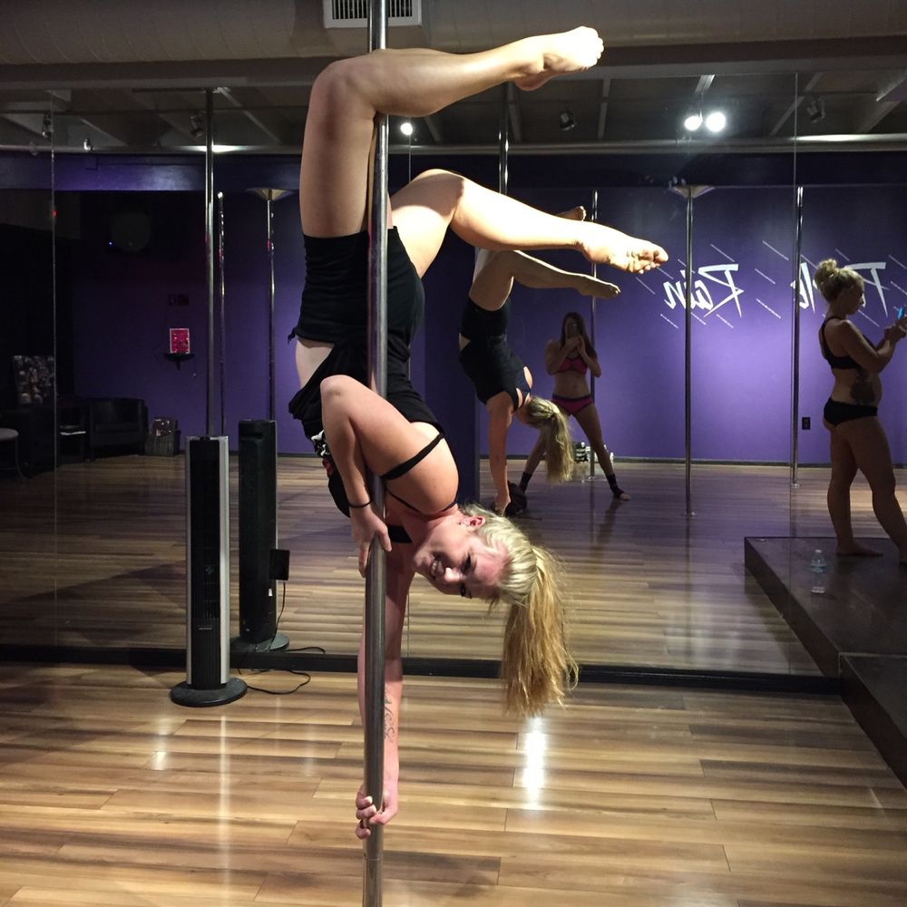 Purple Rain Pole Fitness