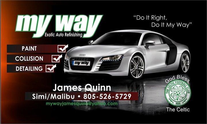 My Way Auto Body & Detailing: 195 E Easy St, Simi Valley, CA