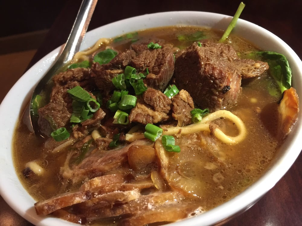 Beef noodle half beef half tender yelp for 101 taiwanese cuisine