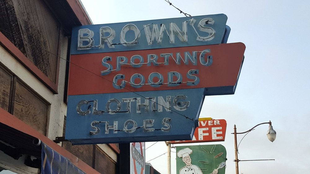 Brown's Sporting Goods: 797 Redwood Dr, Garberville, CA
