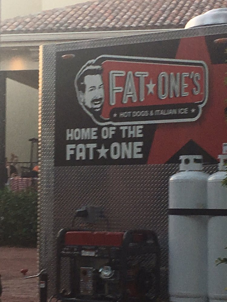 Fat One's Hot Dogs & Italian Ice: 9101 International Dr, Orlando, FL