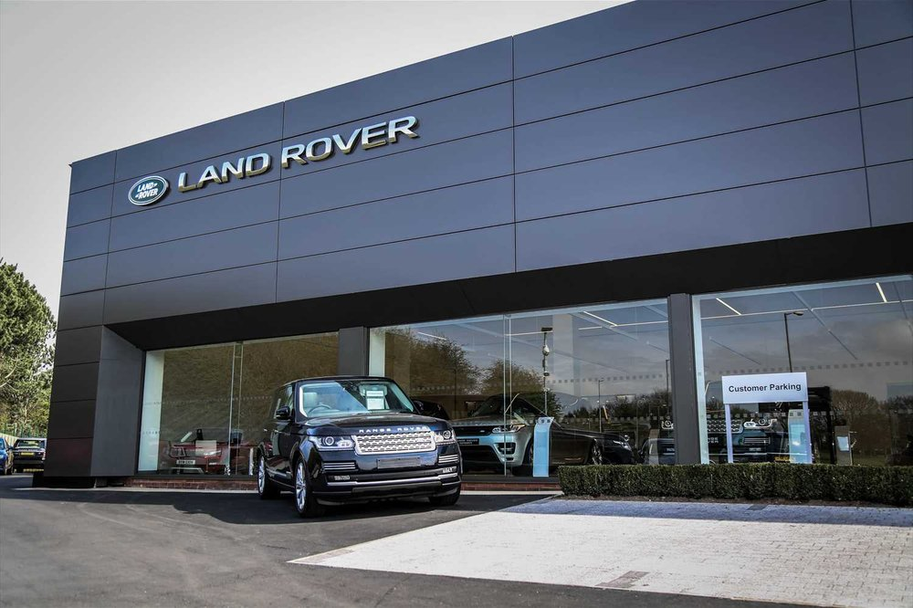 Listers Land Rover Droitwich Car Dealers Kidderminster