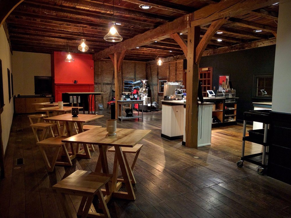 Black Lodge Coffee Roasters: 610 Church St, New Harmony, IN