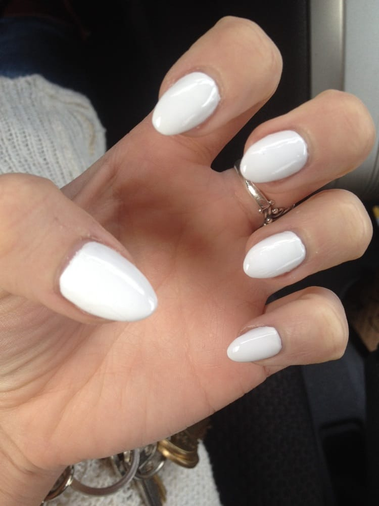 Photo Of K Nails Norco Ca United States Shaped Almond Claw Acrylics