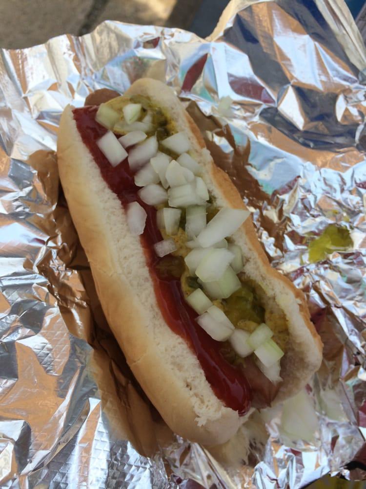 KDog's HotDogs: 5TH Ave At Walnut St, McKeesport, PA