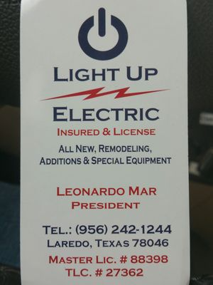 Photo Of Light Up Electric   Laredo, TX, United States Design