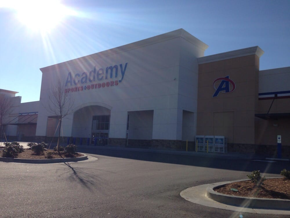 Academy is one of my husband's favorite stores especially for nice Columbia apparel and outdoors supplies. My husband can spend hours in this store just browsing through all the different 6/10(6).