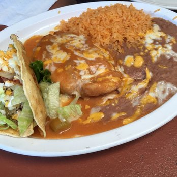 Photo Of El Patio Restaurant   Simi Valley, CA, United States. Chile Relleno