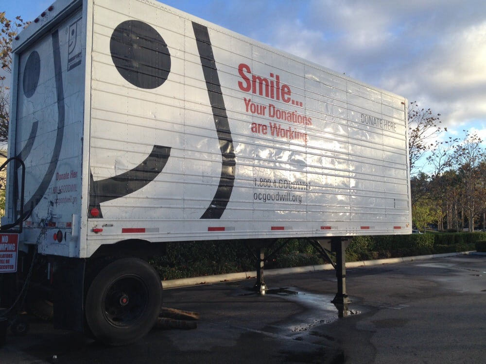 Goodwill Drop Off Truck: Via Mattina, Rancho Santa Margarita, CA