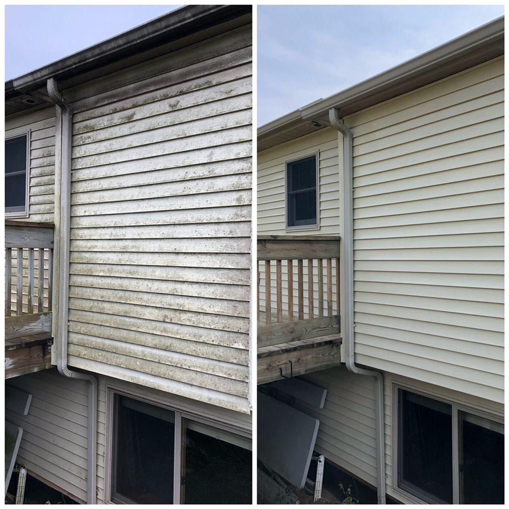 Horizon Exterior Cleaning: 6744 Warner St, Allendale Charter Township, MI