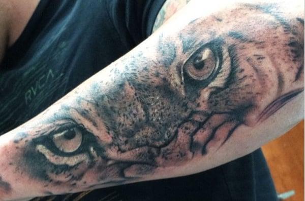 Evolution tattoo studio tatovering 411 e calder way for Evolution tattoo studio