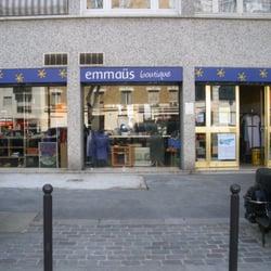 Boutique emma s charonne friperies v tements vintage et d p ts vente 54 - Emmaus paris depot vente ...
