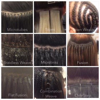 What Different Types Of Weave Extension Methods Look Like