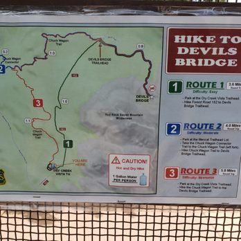 Devil's Bridge Trail - Dry Creek Rd, Sedona, AZ - 2019 All ... on sedona hiking map pdf, cave creek az hiking maps, pine az hiking maps, sedona arizona map, sedona jeep trails map, sedona arizona hiking,
