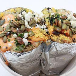 Photo Of Erleaf Irvine Ca United States Two Hander Burrito